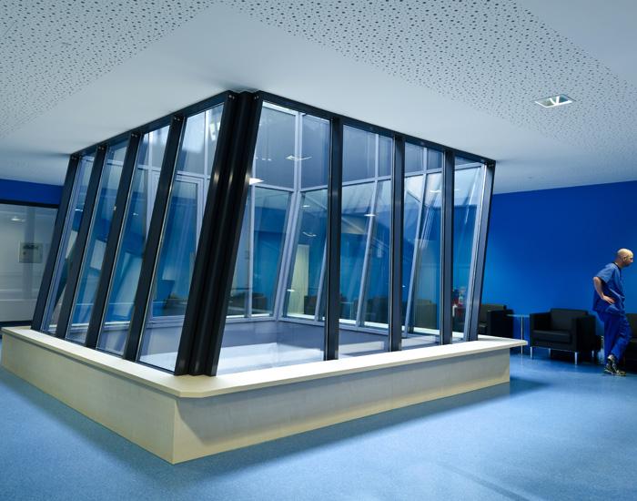 ruhrlandklinik lungenzentrum essen pl architekten. Black Bedroom Furniture Sets. Home Design Ideas