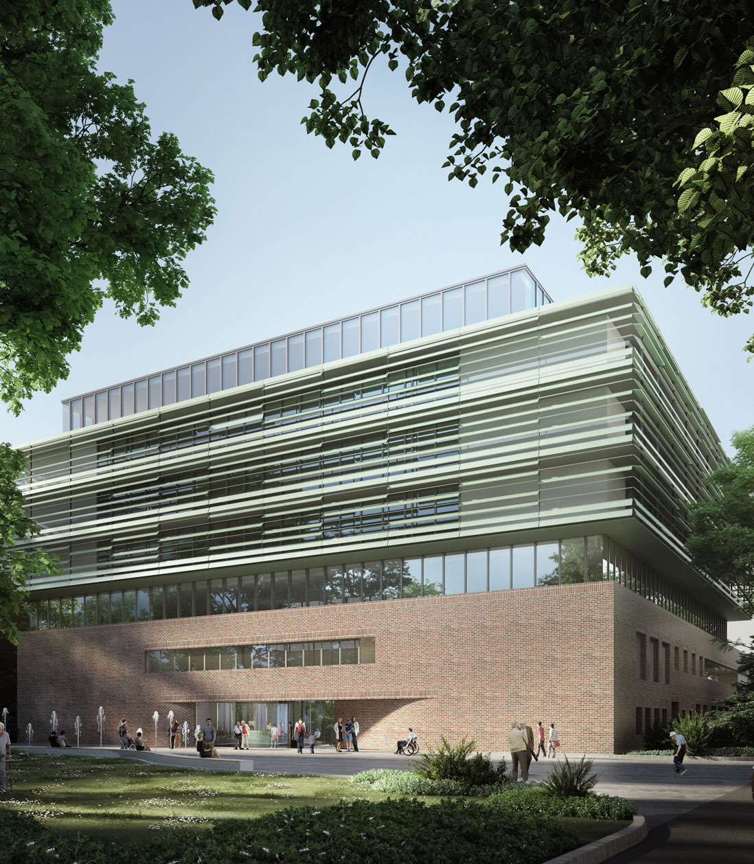 Neubau Martini-Klinik Universitätsklinikum Hamburg-Eppendorf