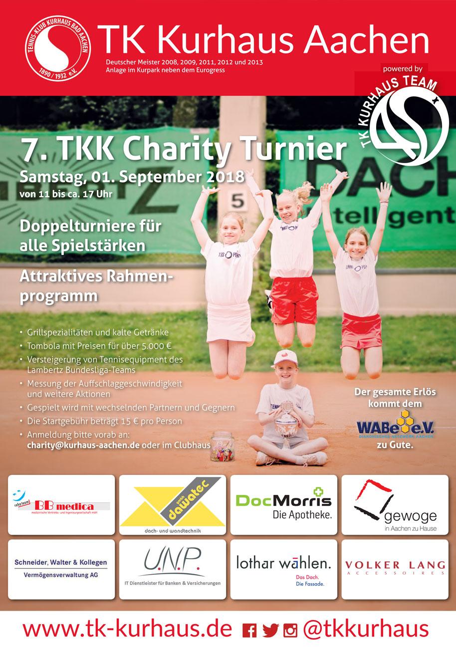PL Architekten sponsern Charity-Tennisturnier Tennis-Klub Kurhaus Bad Aachen
