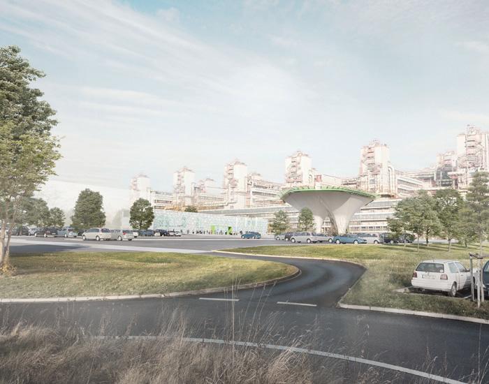 PL Architekten Wettbewerb Erweiterung Uniklinik RWTH Aachen