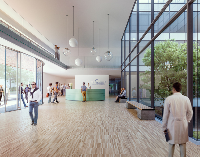 PL Architekten Neubau der Martiniklinik des Universitätsklinikums Hamburg-Eppendorf