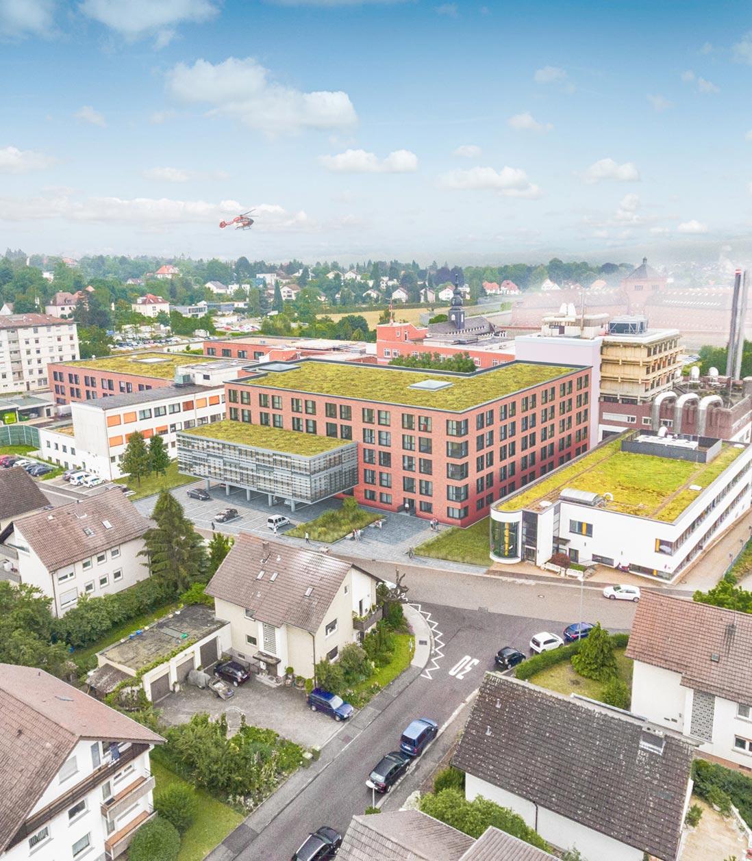 PL Architekten: Erweiterung der Fürst-Stirum-Klinik Bruchsal